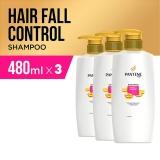 Pantene Shampoo Hair Fall Control 480Ml Paket Isi 3 Di Jawa Barat