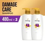Promo Pantene Shampoo Total Damage Care 480Ml Pack Of 2 Di Jawa Barat