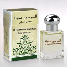 Jual Parfum Al Haramain Madinah 100 Original Impor Arab Non Alkohol 15Ml Alharamain