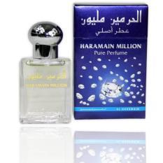Parfum AL HARAMAIN MILLION Perfume 100% Original Impor Arab Non Alkohol 15ml Parfume Minyak Wangi Parfum ALHARAMAIN HARAMAIN AL HAROMAIN ALHAROMAIN HAROMAIN