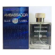 Parfum Ambassador Blue Label for Men Berkualitas - EDP 120ml