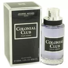 Jual Beli Parfum Original Jeanne Arthes Colonial Club Pour Homme Edt 100Ml