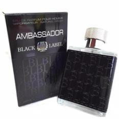 Parfum Pria Ambassador Black Label  - Men EDP 120 ml