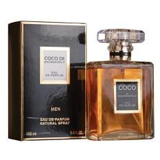 Parfum Pria Import Murah Obral Terlaris EDT COCO DE MEN 100 ML / Minyak Wangi Artis Woody Elegant