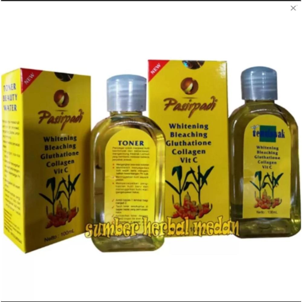 Harga Penawaran Pasir Padi Toner Temulawak Whitening Bleaching 100ml - 2Botol discount - Hanya Rp48.354