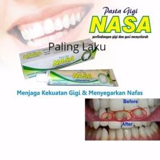 Pasta gigi / odol herbal anti karang gigi NASA original  120 gr