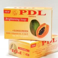 PDL Papaya-Sabun Pencerah Kulit (Original Made In Indonesia)
