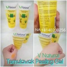 PEELING GEL SCRUB /SPA TEMULAWAK V Natural Exfoliating Serum Gel BPOM