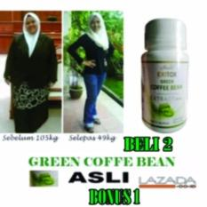 Jual Pelangsing Badan Green Coffee Bean Kapsul Herbal Green Coffee Murah