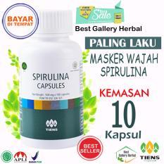 Cuci Gudang Pembersih Wajah Tiens Masker Hijau Spirulina Herbal Terpercaya Paket 10 Kapsul New Promo Free Kartu Member By Best Gallery Herbal