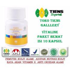 Harga Pemutih Badan Alami Terbaik Kaya Akan Vitamin E Kemasan 10 Kapsul Tiens Vitaline Asli