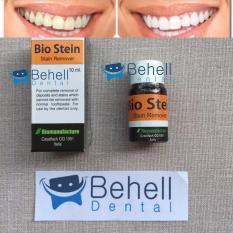 Pemutih Gigi Bio Stain / Bios Stein / Bleaching Gigi / Penghilang Pembersih Karang Gigi