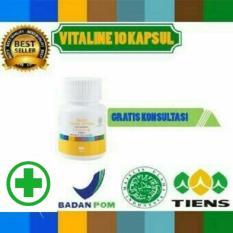 Review Pemutih Wajah Herbal Alami Vitaline Softgel Tiens 10 Kapsul Terbaru