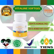 Pemutih wajah herbal alami vitaline softgel tiens 10 kapsul (cream wajah)