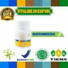 Spek Pemutih Wajah Herbal Tiens Vitaline Softgel 20 Kapsul Tiens