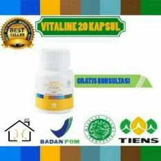 Toko Pemutih Wajah Herbal Tiens Vitaline Softgel 20 Kapsul Termurah Indonesia