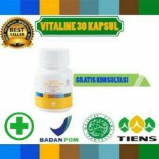 Beli Pemutih Wajah Herbal Vitaline Softgel Tiens 30 Kapsul Seken