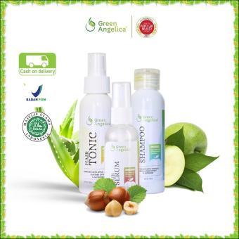 Cara Beli Penebal Rambut Dan Penumbuh Rambut Alami Mujarab Green Angelica Maximal Treatment Penyubur Rambut Kepala Botak 100 Original Product Dan Halal