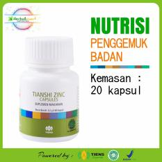Spesifikasi Herbalmart Tiens Penggemuk Badan 20 Kapsul Merk Herbalmart