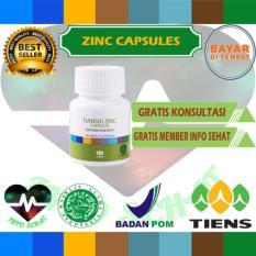 Info Sehat - Penggemuk badan herbal tiens zinc 120 kapsul