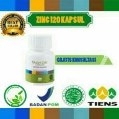 Penggemuk Badan Herbal Tiens Zinc 120 Kapsul Tanpa Efek Samping Original