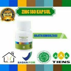 Toko Penggemuk Badan Herbal Tiens Zinc 180 Kapsul Termurah Indonesia