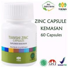 Review Tentang Penggemuk Badan Herbal Tiens Zinc 60 Kapsul