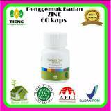 Harga Penggemuk Badan Zinc 60 Kaps Merk Tiens Supplement