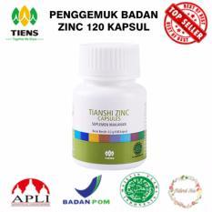Jual Penggemuk Badan Zinc Supplement 120 Kapsul Online Di Jawa Timur