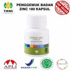 Jual Penggemuk Badan Zinc Supplement 180 Kapsul Jawa Timur