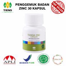 Review Penggemuk Badan Zinc Supplement 30 Kapsul Jawa Timur