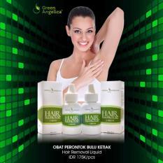 Spesifikasi Penghilang Bulu Ketiak Ampuh No 1 Green Angelica Hair Removal Liquid Perontok Bulu Cepat Alami Yang Bagus