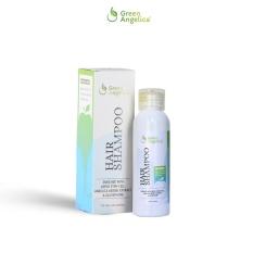 Penghilang Ketombe Ampuh dan Pencegah Kebotakan Rambut Hair Shampo Green Angelica Mujarab Pelembut Rambut Mengatasi Kerontokan dan Menghilangkan Ketombe Basah dan Kering
