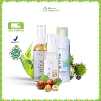 Harga Penghilang Uban Secara Permanen Green Angelica Paket Penghilang Uban Obat Uban Terampuh 100 Original Product Dan Halal Asli Green Angelica