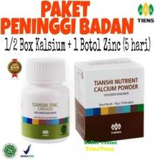 Peninggi Badan 1 2 Nhcp 1 Botol Zinc Tambah Tinggi 5 Hari Pemakaian Tokotiens Jawa Timur