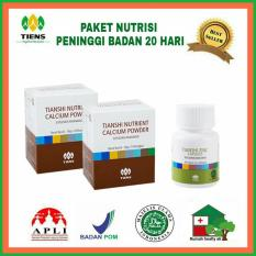 Review Peninggi Badan 20 Hari Tiens Supplement