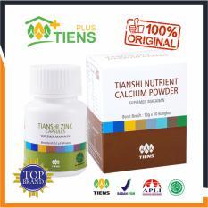 Review Peninggi Badan Herbal Alami Tiens Nutrient High Calcium Powder Nhcp 1 Box 1 Botol Zinc Gratis Member Card Gift