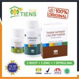 Review Tentang Peninggi Badan Herbal Alami Tiens Nutrient High Calcium Powder Nhcp 3 Box 3 Botol Zinc 1 Botol Spirulina Gratis Member Card Gift