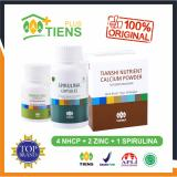 Top 10 Peninggi Badan Herbal Alami Tiens Nutrient High Calcium Powder Nhcp 4 Box 2 Botol Zinc 1 Botol Spirulina Gratis Member Card Gift Online