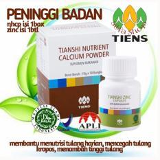 Jual Peninggi Badan Tiens 10 Hari Bisa Tinggi Tanpa Efek Samping Nutrient High Calcium Powder Zinc Produk No1 Di Dunia Murah