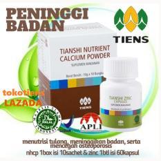 Beli Peninggi Badan Tiens 10 Hari Bisa Tinggi Tanpa Efek Samping Nutrient High Calcium Powder Zinc Produk No1 Di Dunia By Tokotiens Terbaru