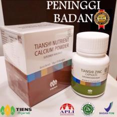 Peninggi Badan Tiens 10 Hari Bisa Tinggi Tanpa Efek Samping ( nutrient high calcium powder & zinc ) Produk No1 di dunia  - Gratis Konsultasi