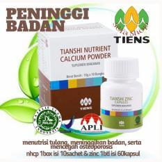 Jual Beli Peninggi Badan Tiens Nutrient High Calcium Powder Dan Zinc Jawa Timur