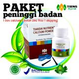 Review Tentang Peninggi Badan Tiens Nutrient Hight Calcium Powder Dan Zinc Free Skipping By Tiens Gh