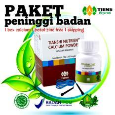 Spesifikasi Peninggi Badan Tiens Nutrient Hight Calcium Powder Dan Zinc Free Skipping By Tiens Gh Paling Bagus