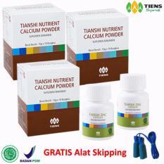 Tips Beli Tiens Peninggi Badan Ampuh Dan Terpercaya 3 Calsium 2 Zinc Free Alat Skipping Member Card Hmc Yang Bagus