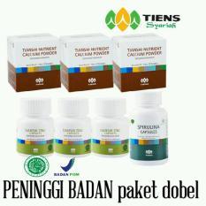 Peninggi Badan Tiens (Paket Dobel) - nutrient high calcium powder & zinc by TIENS