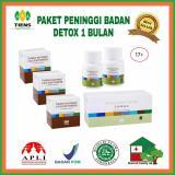 Toko Peningi Badan Paket Detox 1 Bulan Lengkap Indonesia
