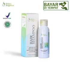 penumbuh rambut botak alami, hair shampo green angelica, penumbuh rambut green angelica, mengatasi rambut lepek dan kusam berketombe