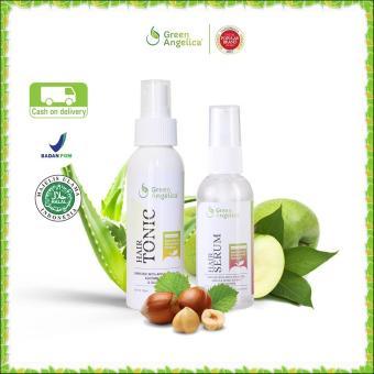 Penumbuh Rambut Tercepat Dan Alami Green Angelica Combo 1 Perawatan Rambut Kering Dan Rontok 100 Original Product Dan Halal Murah